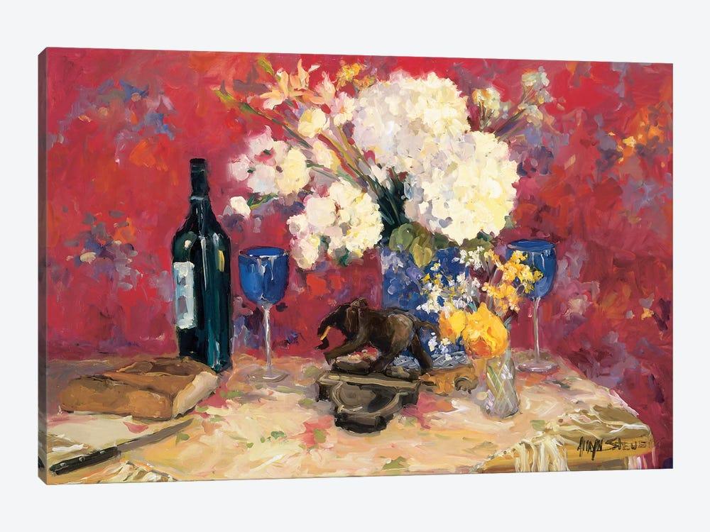 White Bouquet by Allayn Stevens 1-piece Canvas Print