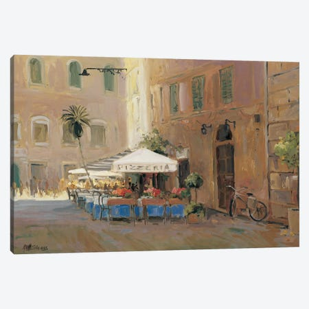 Café Roma Canvas Print #AYN5} by Allayn Stevens Canvas Artwork