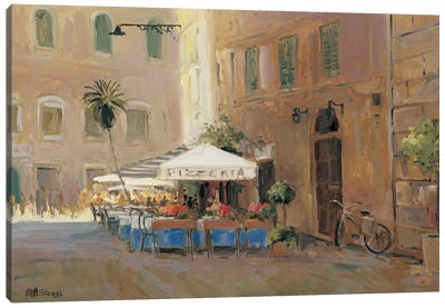 Café Roma Canvas Art Print