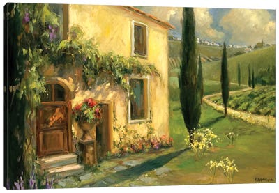 Scenic Italy I Canvas Art Print
