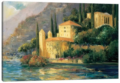 Scenic Italy III Canvas Art Print