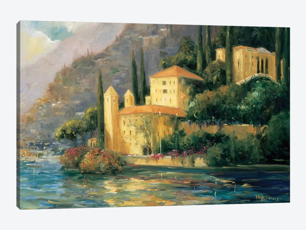 Scenic Italy III by Allayn Stevens 1-piece Canvas Art Print