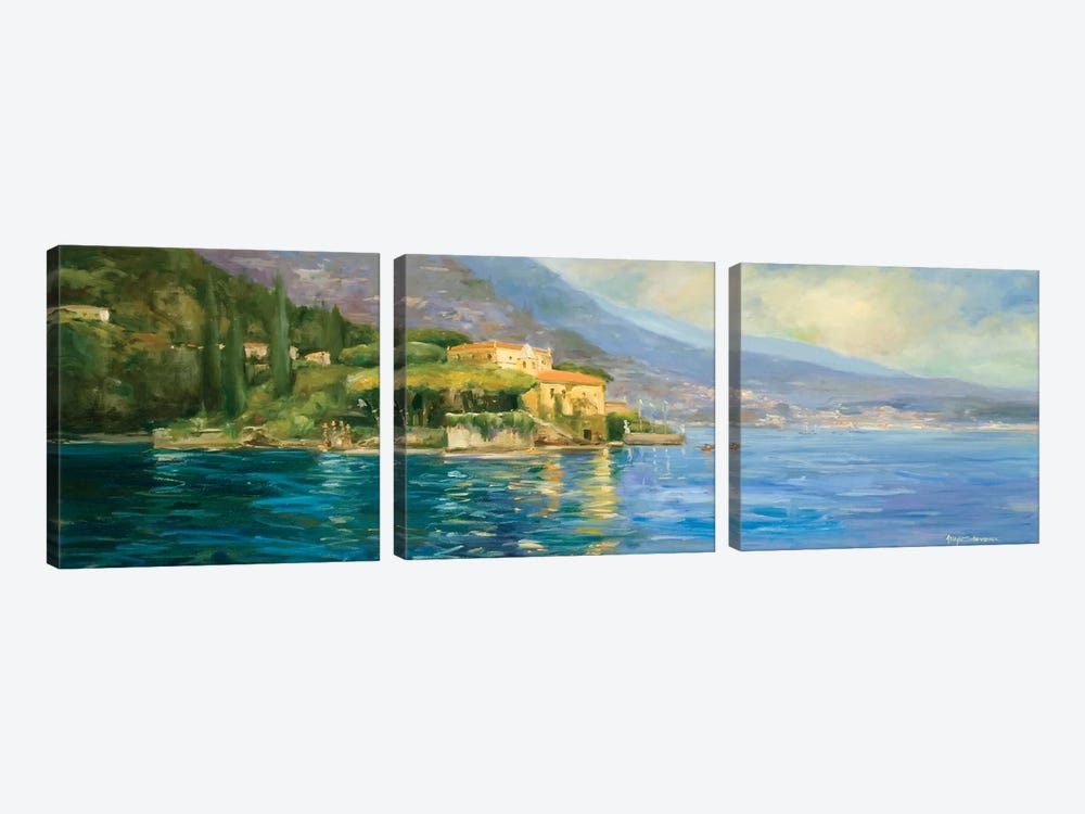 Scenic Italy IV by Allayn Stevens 3-piece Canvas Wall Art