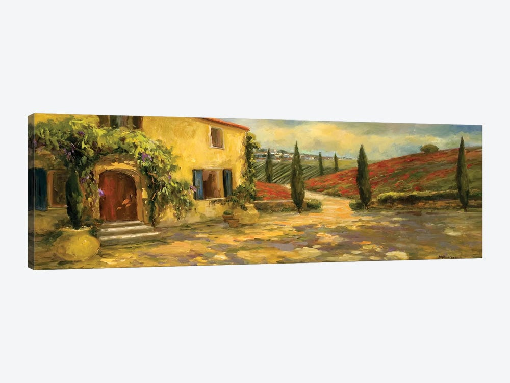 Scenic Italy V by Allayn Stevens 1-piece Canvas Wall Art