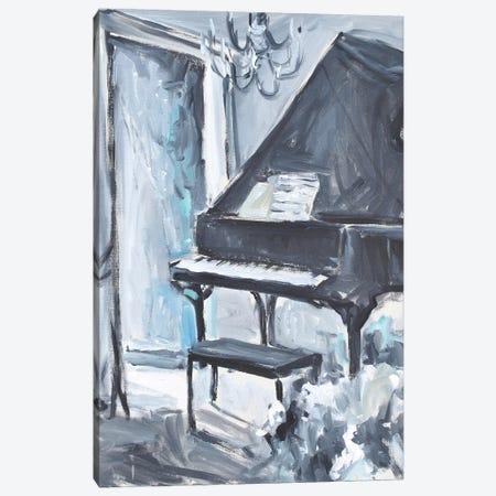 Baby In Blue Canvas Print #AYN74} by Allayn Stevens Canvas Art