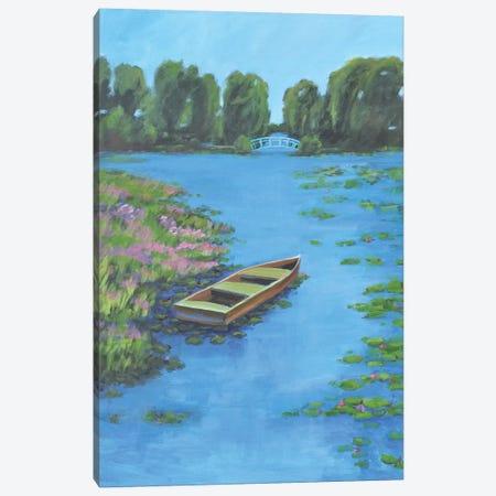 Boat Pond Canvas Print #AYN76} by Allayn Stevens Canvas Wall Art