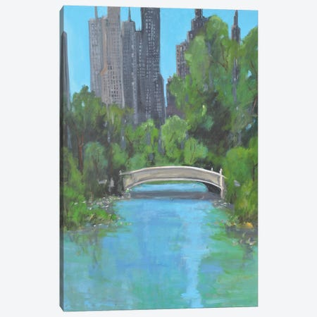 City Park Canvas Print #AYN77} by Allayn Stevens Canvas Artwork