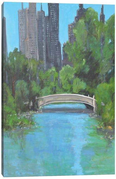 City Park Canvas Art Print