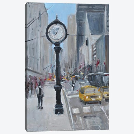 City Streets Canvas Print #AYN78} by Allayn Stevens Art Print