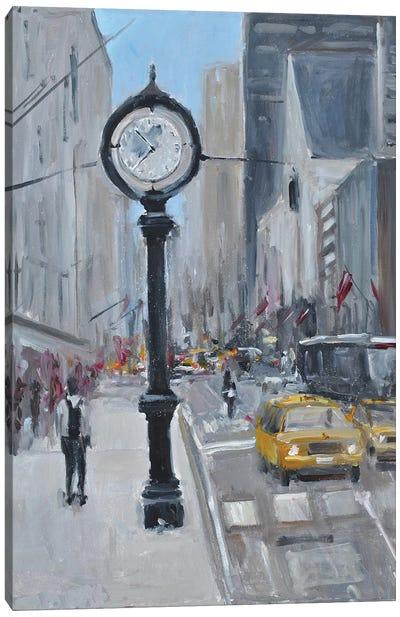 City Streets Canvas Art Print