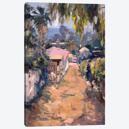 Coastal Path Canvas Print #AYN7} by Allayn Stevens Canvas Art