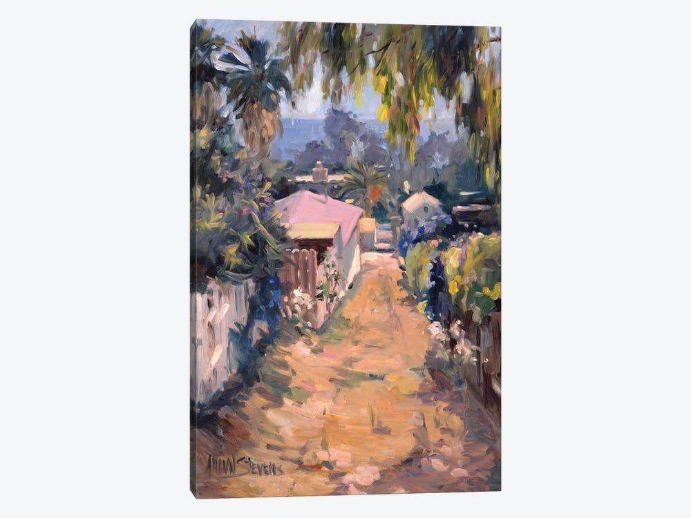 Coastal Path by Allayn Stevens 1-piece Canvas Art Print