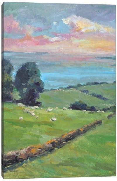 Fields Of Green Canvas Art Print