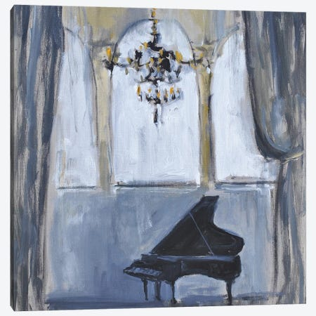 Formal Piano Canvas Print #AYN81} by Allayn Stevens Canvas Wall Art