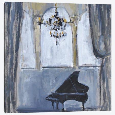 Formal Piano Canvas Print #AYN81} by Allayn Stevens Canvas Wall Art