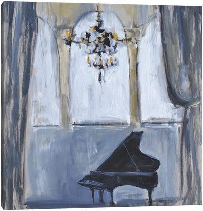 Formal Piano Canvas Art Print