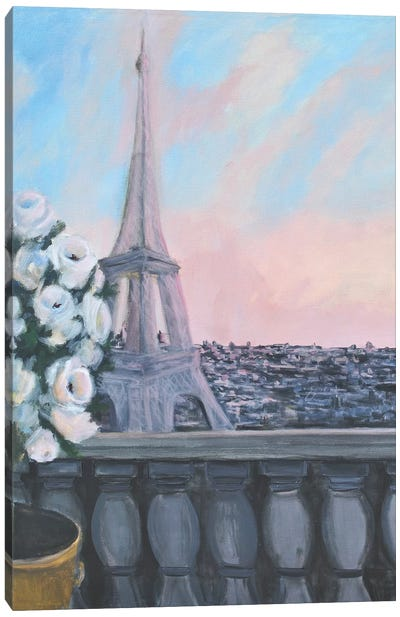 From The Window Canvas Art Print