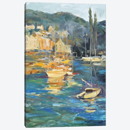 Harbor Side Canvas Print #AYN83} by Allayn Stevens Canvas Wall Art