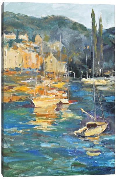 Harbor Side Canvas Art Print