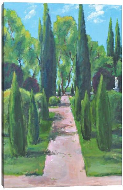 Lake Gardens Canvas Art Print