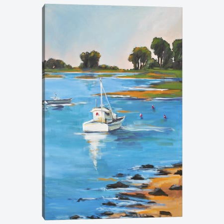 Low Tide Canvas Print #AYN86} by Allayn Stevens Art Print