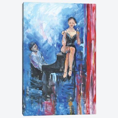 One More Tune Canvas Print #AYN89} by Allayn Stevens Canvas Wall Art