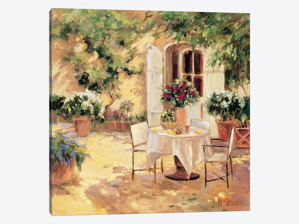 Country Villa by Allayn Stevens 1-piece Canvas Wall Art