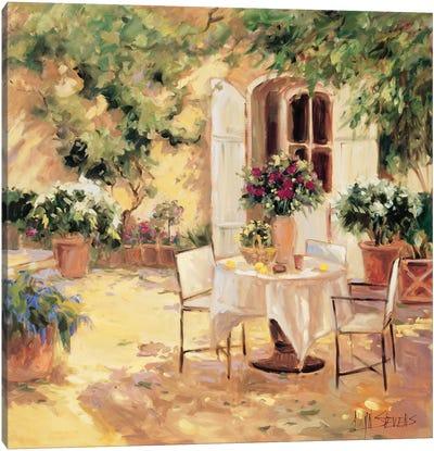 Country Villa Canvas Art Print
