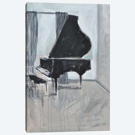 Piano 4 Canvas Print #AYN94} by Allayn Stevens Canvas Artwork