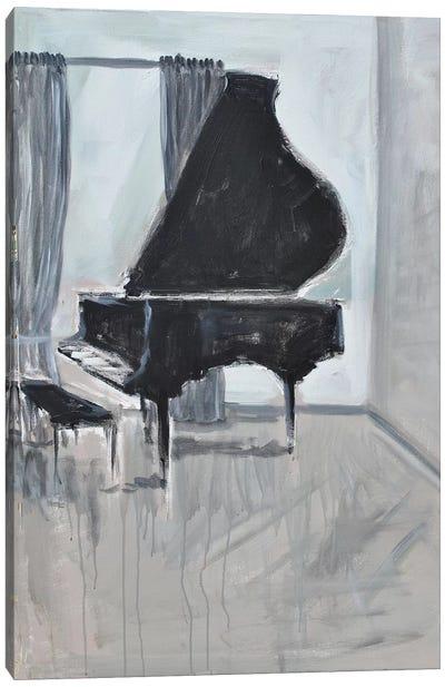 Piano 4 Canvas Art Print