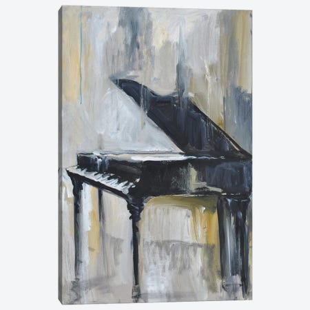 Piano Gold Canvas Print #AYN95} by Allayn Stevens Canvas Wall Art