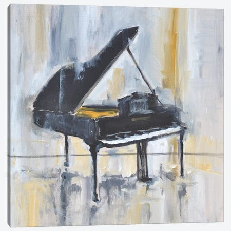 Piano In Gold II Canvas Print #AYN97} by Allayn Stevens Canvas Art