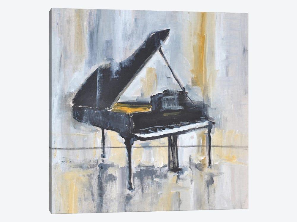 Piano In Gold II by Allayn Stevens 1-piece Canvas Wall Art
