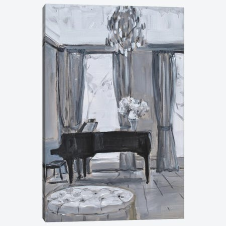 Piano Room Canvas Print #AYN98} by Allayn Stevens Art Print