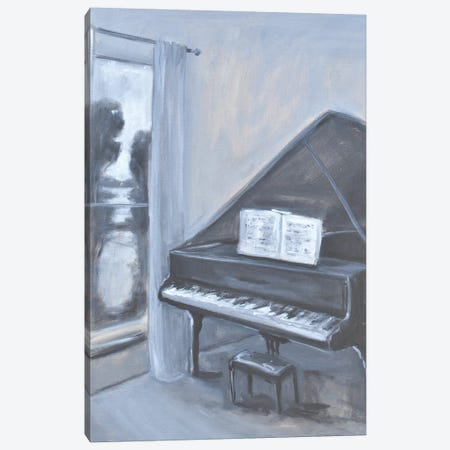 Piano With A View Canvas Print #AYN99} by Allayn Stevens Canvas Print