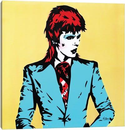 David Bowie: Life On Mars Canvas Art Print