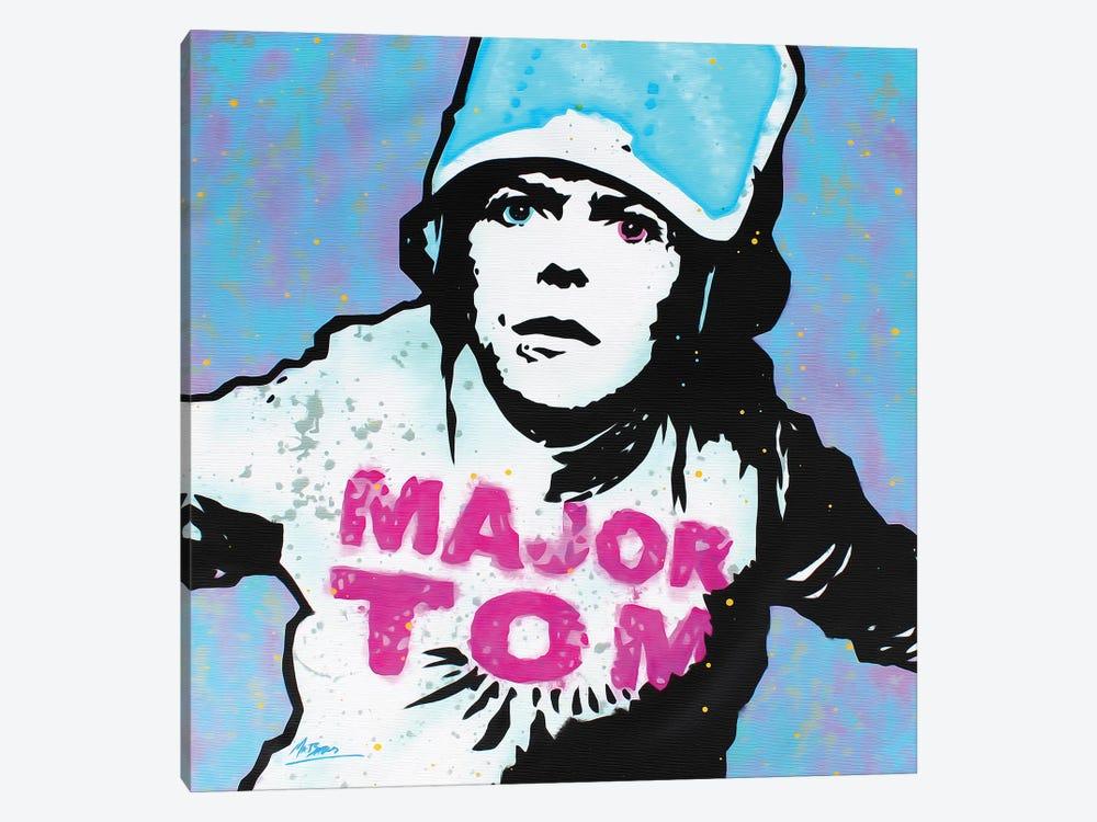 David Bowie: Major Tom by MR BABES 1-piece Canvas Artwork