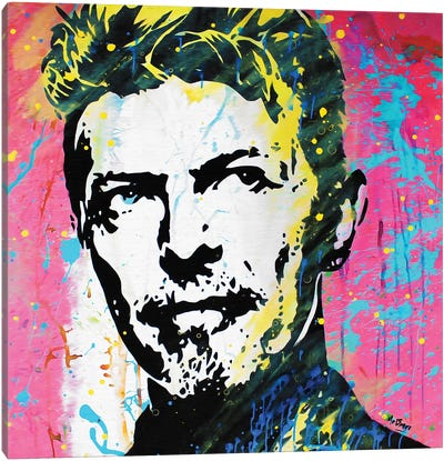 David Bowie: The Man Who Changed The World Canvas Art Print