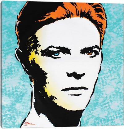 David Bowie: The Man Who Fell To Earth Canvas Art Print