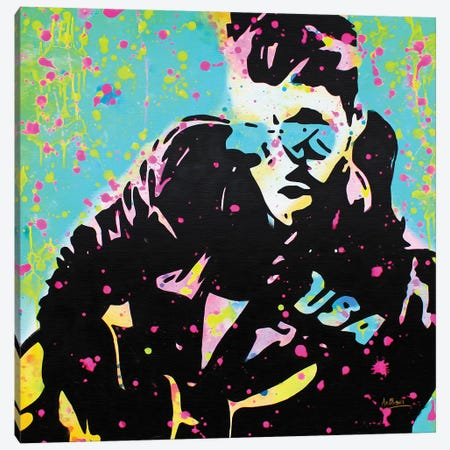 George Michael Canvas Print #BAE16} by MR BABES Art Print