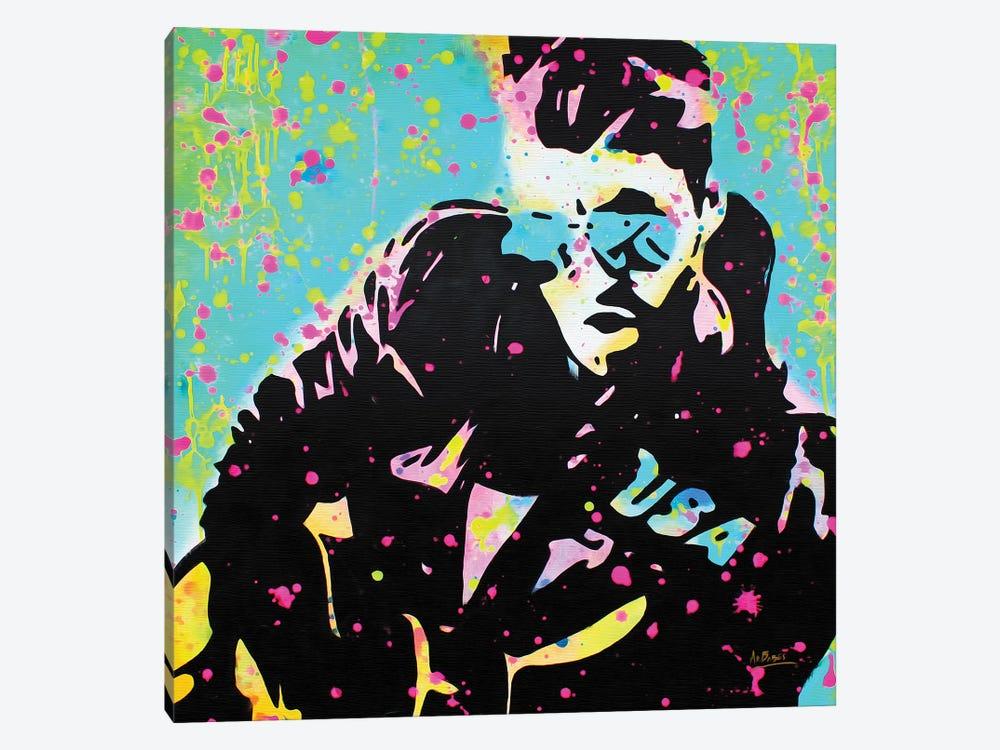 George Michael by MR BABES 1-piece Art Print