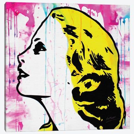 Grace Kelly Canvas Print #BAE17} by MR BABES Art Print