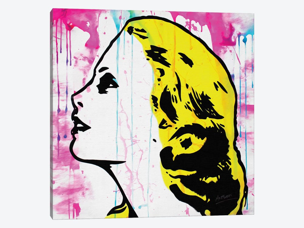 Grace Kelly by MR BABES 1-piece Canvas Art