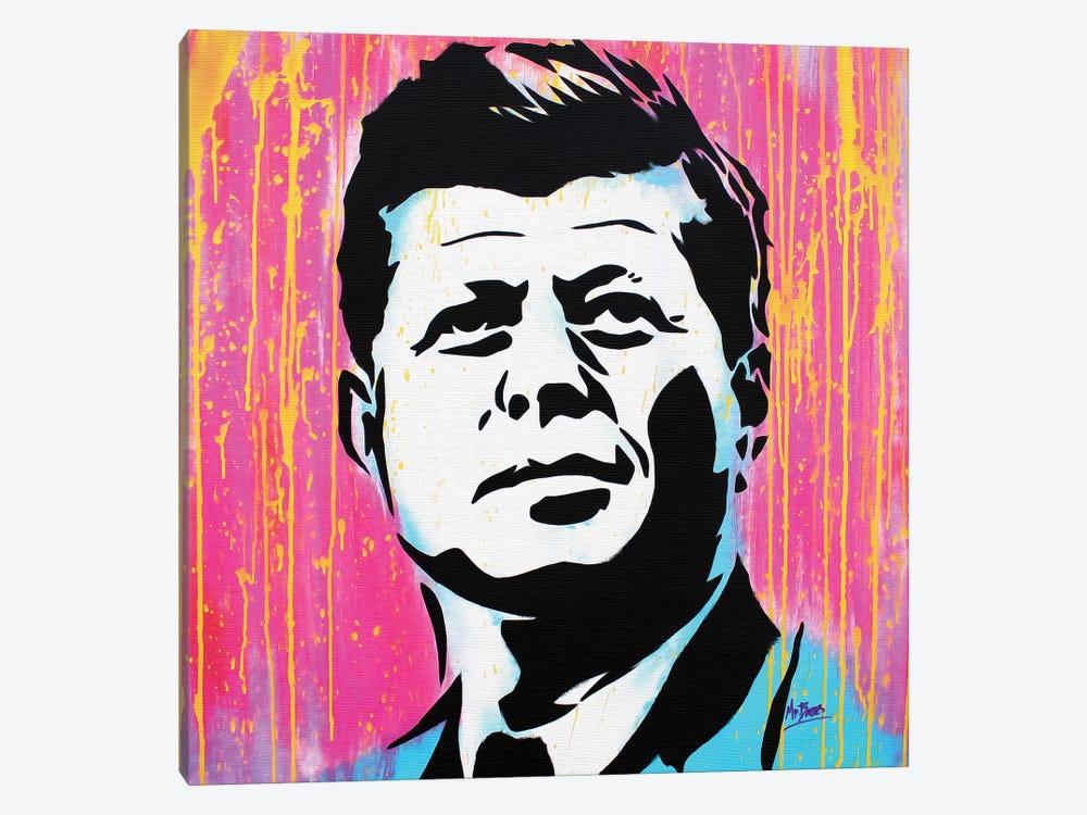 John F. Kennedy by MR BABES 1-piece Canvas Art
