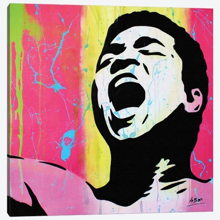 Muhammad Ali Canvas Print #BAE24} by MR BABES Canvas Art