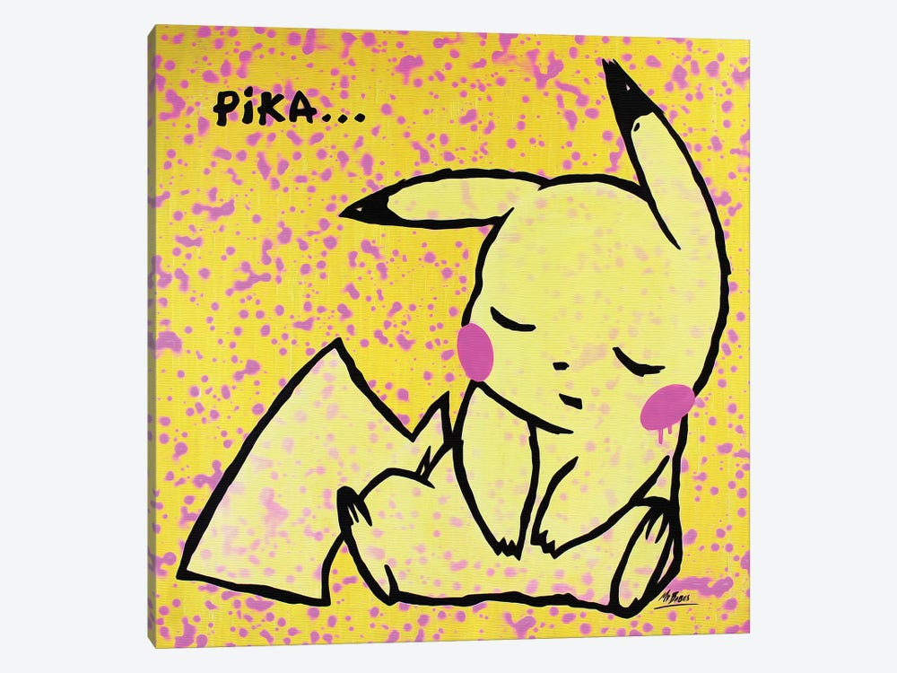 Pokemon: Pikachu 1-piece Canvas Artwork