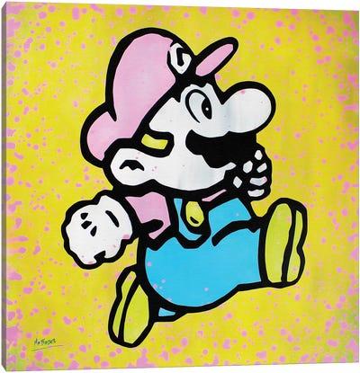 Super Mario Canvas Art Print