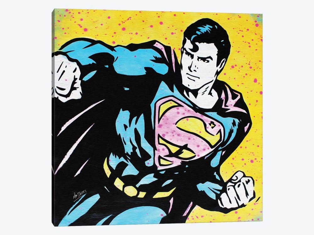 Superman by MR BABES 1-piece Canvas Art Print