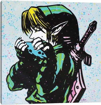 The Legend Of Zelda: Link (Ocarina Of Time) Canvas Art Print