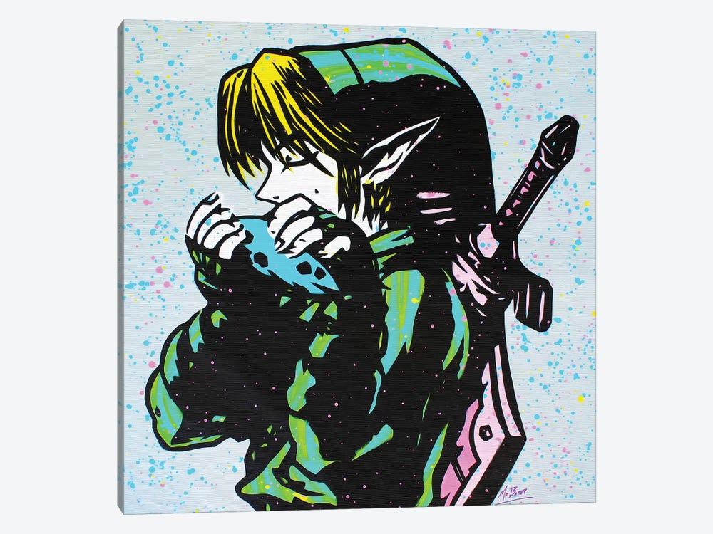 The Legend Of Zelda: Link (Ocarina Of Time) by MR BABES 1-piece Canvas Artwork
